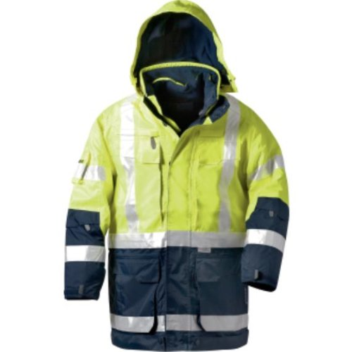 Elysee Warnschutz 4 in 1-Parka WALLACE, Wind-& Wasserdicht, marine / orange, Größe: L 4in 1 Parka