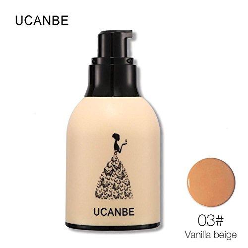 GSEASTBUY 1 PC Hydratant Tonique Liquide Professionnel Cachetage Huile Étanche Maquillage Maquillage Couverture Doux Fondation Blanchiment Cosmétique Concealer (3)