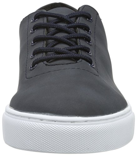 Bianco Laced Up Shoe Jja16, Baskets Basses Homme Bleu - Blau (30/Navy Blue)