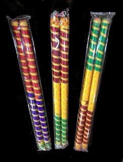 meenakshi handicraft emporium Wooden Dandiya Sticks