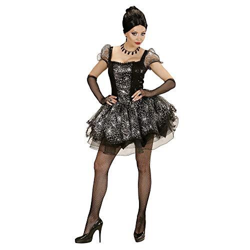 WIDMANN 73534 - Erwachsenenkostüm Spider Lady, Kleid und Fingerlose Handschuhe, Gröߟe ()