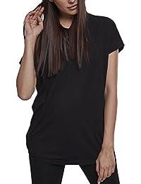 Urban Classics Damen T-Shirt Ladies Sleeveless Jersey Hoody