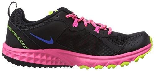 Nike - Scarpe Trail Trail Trail Sauvage, Donna Multicolore (mehrfarbig (noir / Hyper Cobalt / Hyper Pink / Volt))