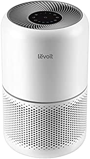 Levoit Air Purifiers for Home Dust Smoke Pet Hair, Up to 40m², H13 True HEPA Air Filter with Timer, Sleep Mode