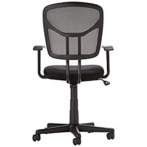 AmazonBasics Mid Back Mesh Chair (Black)