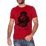 T-Shirt Star Wars Che Guevara - Viva La Empire - Film Choose ur Color - Donna-M-Rossa