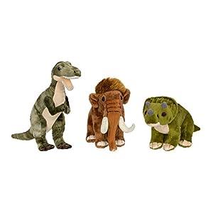 WWF 15200007-Peluche Dinosaurios-25cm-Modelo Aleatorio