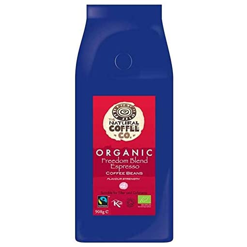 The Natural Coffee Co. Freedom Blend Organic Coffee, 908g