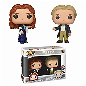 Funko Pop Pack Rose & Jack (Titanic) Funko Pop Titanic