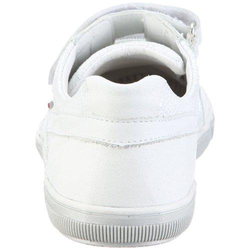 Richter Nives 52.3711, Baskets mode fille - Noir-TR-D3-9 Blanc-TR-A4-83