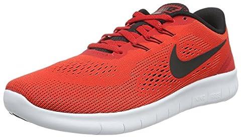 Nike Unisex-Kinder Free Run Laufschuhe, Rot (600 UNIVERSITY RED/BLACK-WHITE), 38 EU