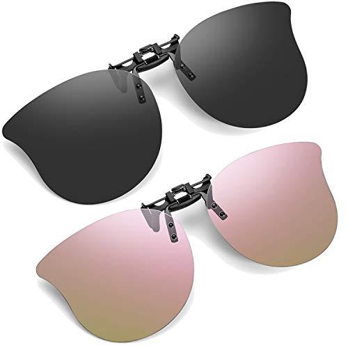 Soxick Cateye - Gafas de sol con clip 2 unidades