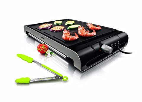 Diffuseur Cuisson - Philips HD4430/20 Plancha Thermostat Ajustable Design Moderne