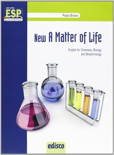 New a matter of life. Chemistry, microbiology & biotechnology. Per gli Ist. tecnici e professionali. Con e-book. Con espansione online