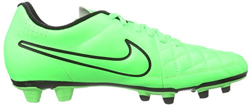 Nike Tiempo Rio II FG Herren Fußballschuhe Grün (Green Strike/Grn Strk-Blk-Blk) kURALFa