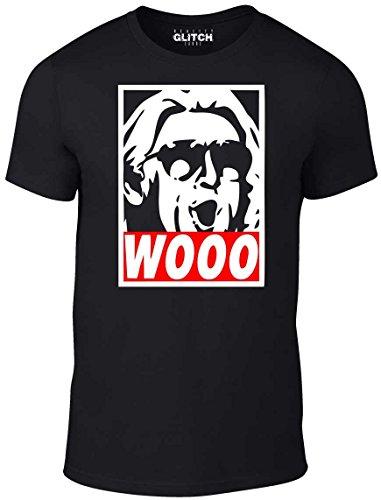 Reality Glitch Wooo T-Shirt - Wrestling Nature Boy Ric Flair