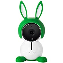 Arlo Baby ABC1000 Monitor Smart WiFi Baby Camera 1080P HD with 2-Way Audio, Night Vision, Air Sensors, Lullaby Player, Night Light, Works with Amazon Alexa, HomeKit