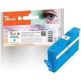 Peach Ink Cartridge - Cartucho de tinta para HP CB323EE, azul