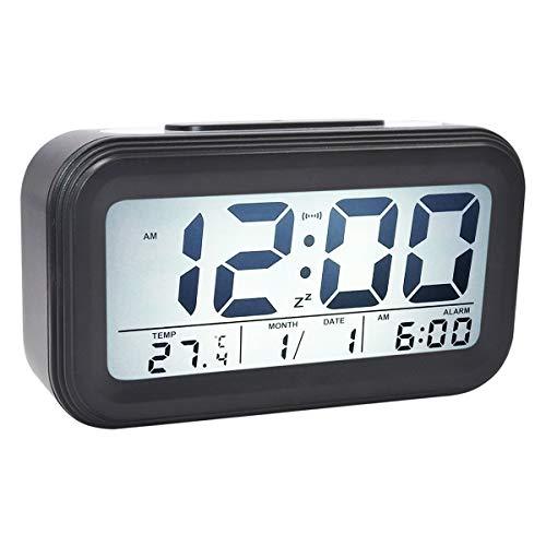 COOJA Reloj Despertador Digital Pilas