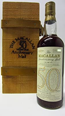 Macallan - Anniversary Single Malt Scotch - 1928 50 year old