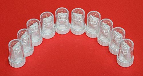 Sports Vision's Kontaktlinsenbehälter - Üblich Typ Barrel 10 Stück CE-gekennzeichnet und...