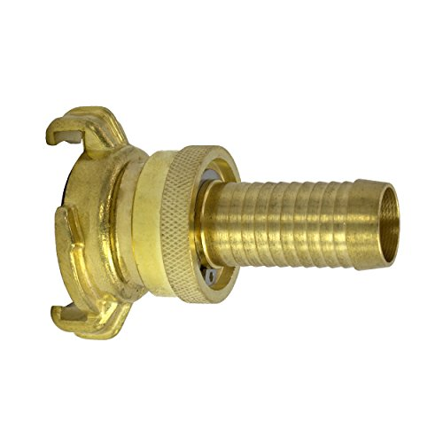 Variosan - Suction coupling and high pressure fitting, nozzle, Blank brass, Geka system