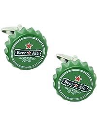 MasGemelos - Gemelos Chapa Cerveza Cufflinks