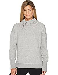Reebok Womens Fleece Cowl Neck Sweatshirt