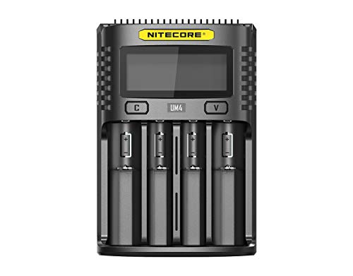 Nitecore UM4 USB 4 Schacht Ladegerät für