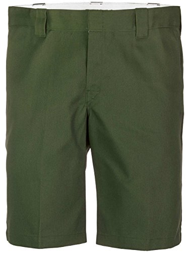 Dickies Herren Shorts Slim Straight Work Grün (Olive Green)