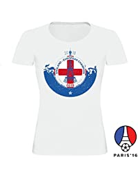 England Football Fanshirt T-Shirt for Woman and Man for EM 2016