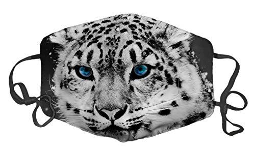 Wolf Custom Mundmaske, Staubschutz, verstellbare Schnalle, Gesichtsmaske