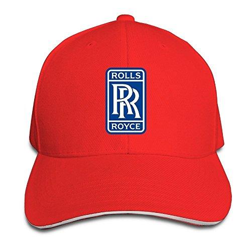 hittings-rolls-royce-sandwich-baseball-caps-for-unisex-adjustable-red