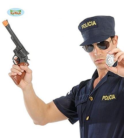 Set de Pistolet Revolver Magnum et Badge Police