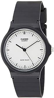 Casio Mens Quartz Watch, Analog Display and Resin Strap, MQ-24-7ELDF