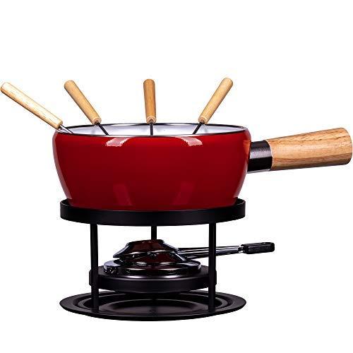 Style\'n Cook Käsefondue Set Emaille Luca 8-TLG.