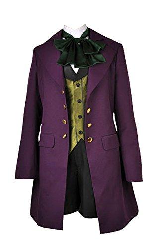 Black Butler II Alois Trancy Cosplay Kostüm Herren (Black Kostüm Butler)