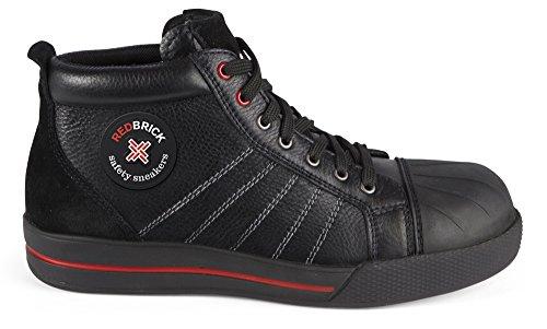 Dexter Red Schuhe (Redbrick Sicherheitsschuhe S3 Sneaker Onyx 42 Schwarz)