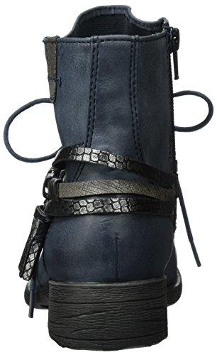 Jana Damen 25208 Stiefel Blau (Navy)