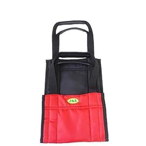 MEYLEE Care Shop Glide Slide Blatt Patient Mover/Steh auf mit dem Gürtel – Rot und Schwarz – 75cm x 21cm