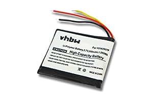 vhbw Batterie 350mAh pour télécommande de GoPro Wi-Fi, ARMTE-001 remplace YD362937P.