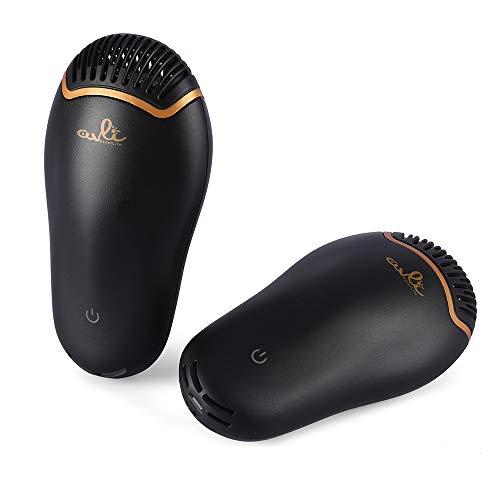 Tragbares Schuhe Trockner Deodorant Sterilisator Luftentfeuchter Elektro, beseitigt Bakterien und verhindert unangenehme Gerüche (Schwarz) ()