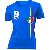 ITALIEN FANSHIRT - Damen T-Shirt Gr.S bis XXL - Golebros