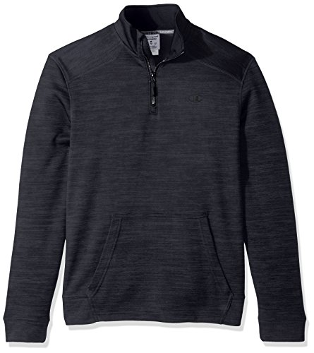 Champion Herren Sweatshirt Stealth Heather/Black
