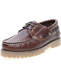 Zapatos Germen 2015 - Náutico Piel Piso Casco hombre