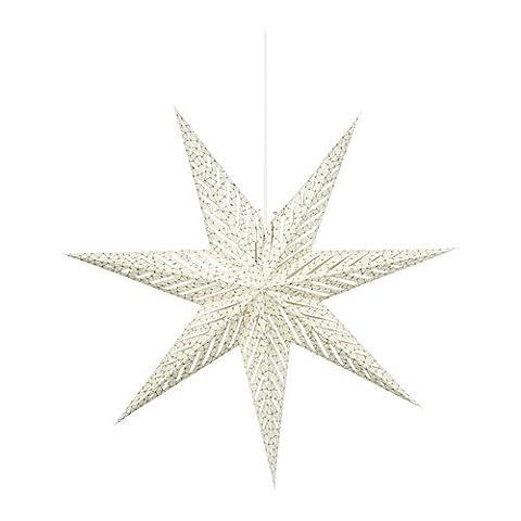 IKEA STRALA Hängeleuchte in grau; Stern; (70cm); A++