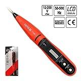 Digitaler Spannungsprüfer LCD Anzeige Stromprüfer Stiftmessgerät 12 - 240 V