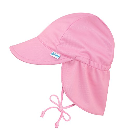 i play. 747132-2002-51 Breathable Flap Hat - 0-6m, rosa