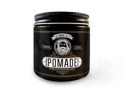 Guardenza Pomade 118ml - Starker Halt und 100% natürliches - Haarwachs - Haar Styling Pomade - Eukalyptus-reiben