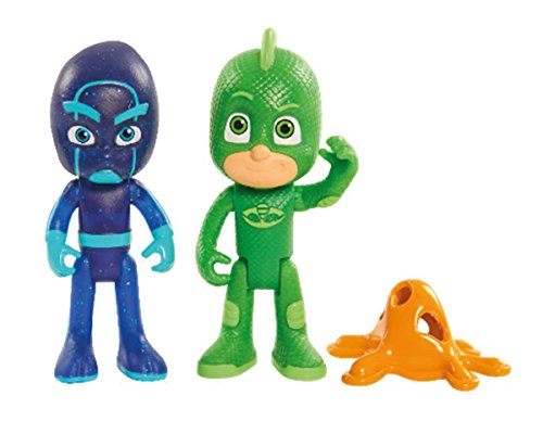 Simba 109402082 - PJ Masks Figuren Set, 2 Stück -